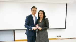 Long Service Award Joan Zuo